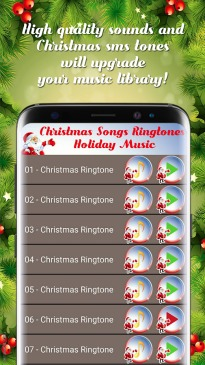 Android Holiday Music and Ringtone App 2017