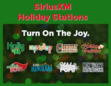 2017 SiriusXM Holiday Stations