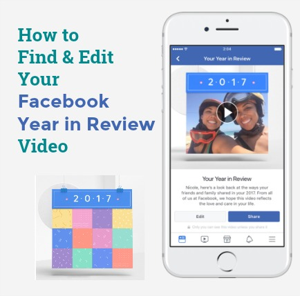 Facebook's Year in Review Video for 2017