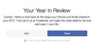 Where to Find Your Facebook Year in Review Video