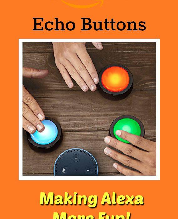 Echo Buttons – Making Alexa More Fun!