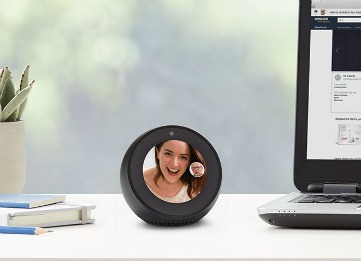Echo Spot Round Video Call