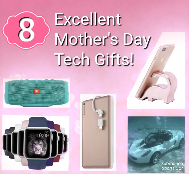 8 Excellent Tech Gifts For Mom